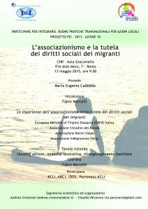 Incontro migranti 13.05.15