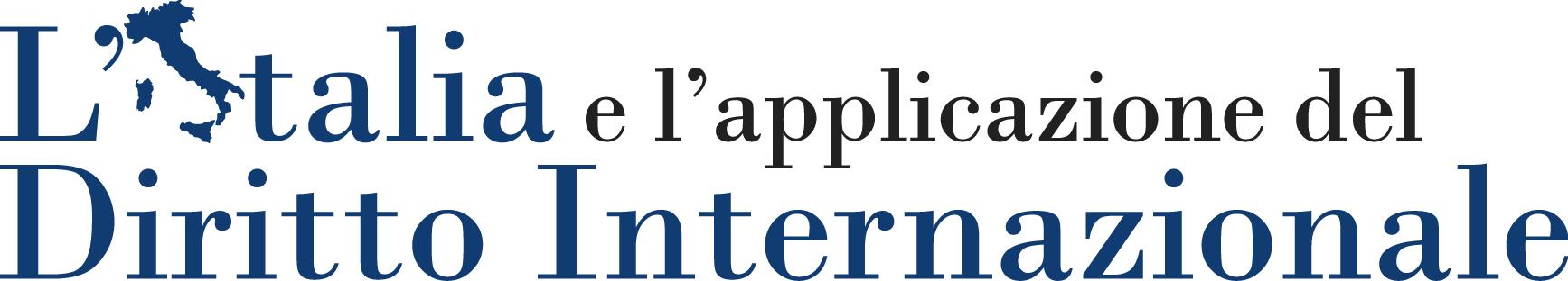 L'Italia e l'applicazione del diritto internazionale, n. 2: 2014-2015