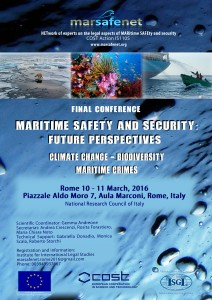 Final Conference Marsafenet Rome 10_11 March 2016