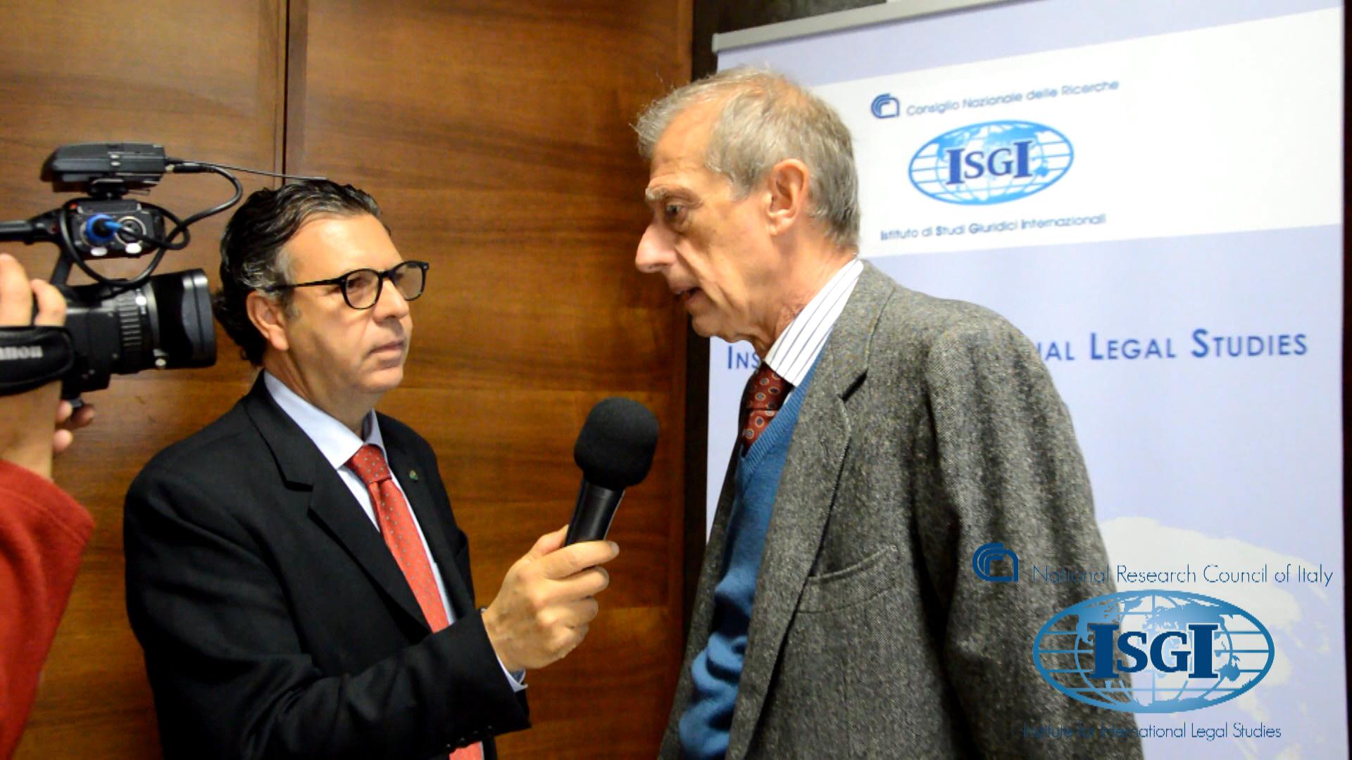 """Intervista a Piero Fassino, Presidente ANCI al convegno """"1996-2016: a 20 anni dalla Carta Sociale """"riveduta"""" il contributo italiano al sistema europeo di tutela dei diritti sociali"""""""
